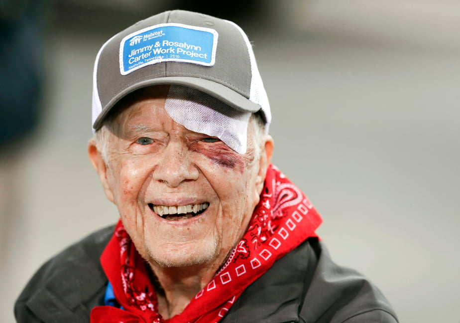 Jimmy Carter - Former President Jimmy Carter Hospitalized Again