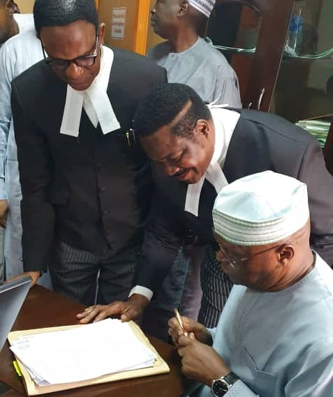 Atiku's Lawyer Bombs Buhari Over Seizure Of Ex-CJN Onnoghen's Passport
