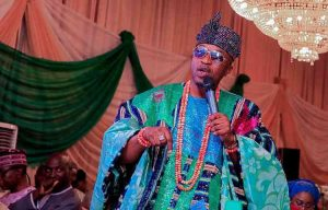 Oluwo Oba Adewale Akanbi 300x192 - Drama In Osun As Oluwo Of Iwo Beats Another Monarch In A Meeting