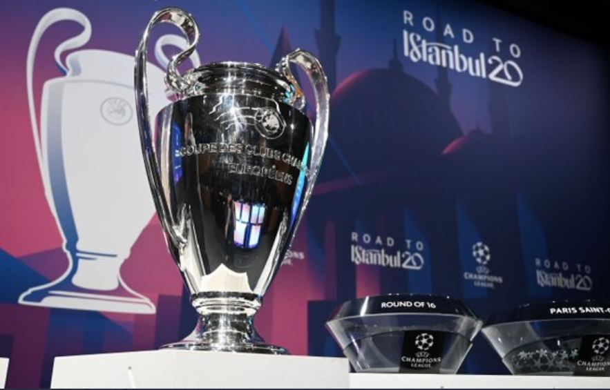 Full Fixtures Of UEFA Champions League Round Of 16 Draw