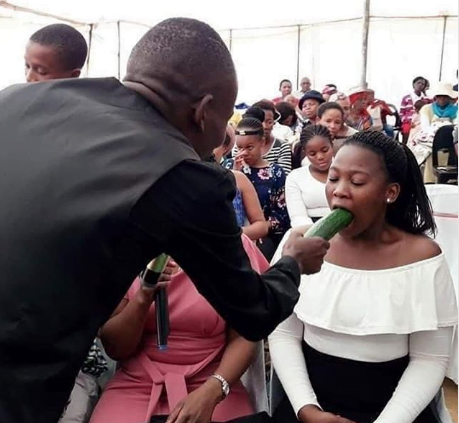 aa - Pastor Teaches Female Members On How To Give Blow-Job In Church(Photo)