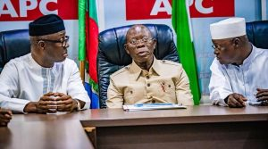 Oshiomhole Speaks On Returning As APC National Chairman After Meeting Buhari