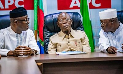 Exposed! How Some APC Governors Tried Kicking Out Oshiomhole
