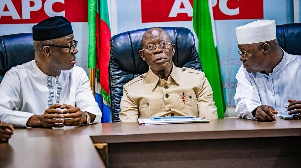 Stop Acting Like Oshiomhole – APC Governors Issue Warning To Gov Buni