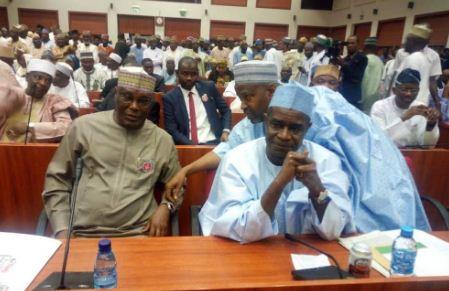 atiku - Just In: Atiku Abubakar Storms Nigeria Senate (Photo)