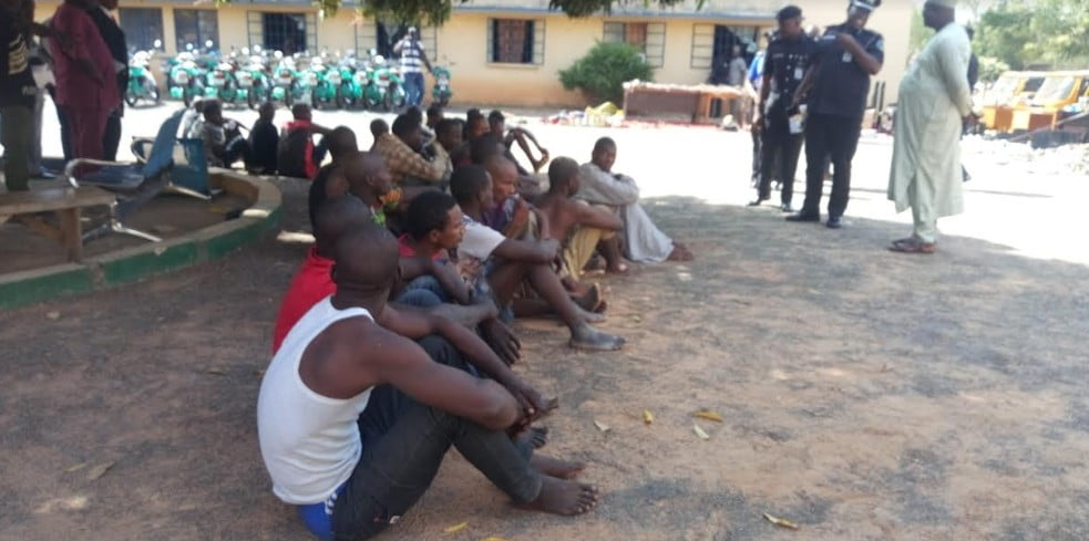 capture5 - Adamawa Police Command Nab 319 Criminals Arrested In Six Months