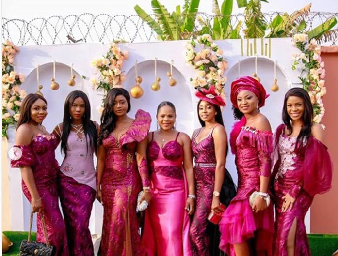 linda ikeji shares stunning photos from sister sandra s traditional wedding 1 - See Photos From Linda Ikeji's Sister's Traditional Wedding