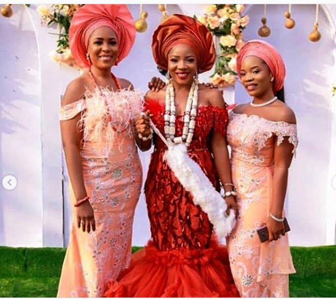 linda ikeji shares stunning photos from sister sandra s traditional wedding 3 - See Photos From Linda Ikeji's Sister's Traditional Wedding