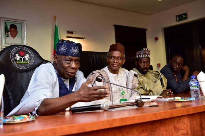 obj - Nigerians React As Obasanjo Pays Private Visit To El-Rufai