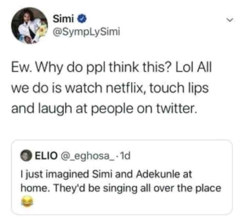 simi2 - Singer, Simi Reveals How She Unwinds With Her Husband Adekunle Gold