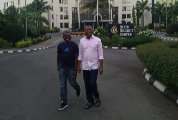 wwe - See Photos Of Sowore As He Leaves DSS Quarters
