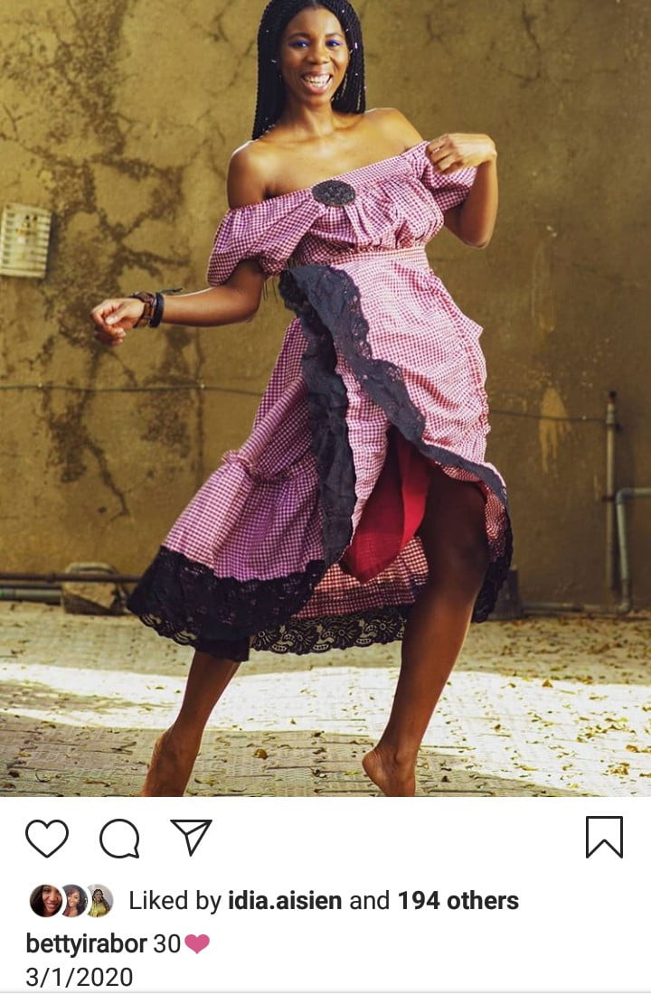 5e0f0817b7595 - See Beautiful Photos Of Betty Irabor's Daughter, Sonia Irabor As She Turns 30
