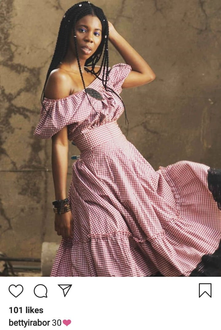 5e0f0864290e9 - See Beautiful Photos Of Betty Irabor's Daughter, Sonia Irabor As She Turns 30