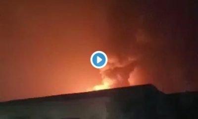 Breaking: Pipeline Explodes In Abule Egba, Lagos (Video)