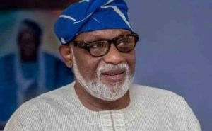 Akeredolu 300x185 - Amotekun: Recruitment Forms Will Be Ready Next Week – Akeredolu