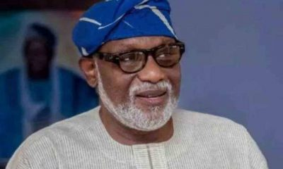 Akeredolu Reacts To Allegations Against Ondo Chief Judge