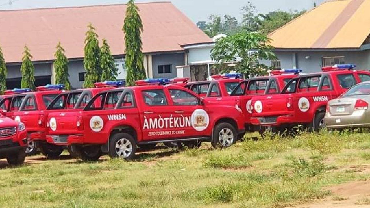 See The Alleged Salary For Operation Amotekun Members Which Is ...