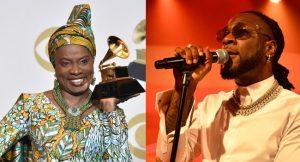 Angelique Kidjo and Burna Boy 300x162 - Grammy Award: Burna Boy Finally Speaks Up, Thanks Angelique Kidjo