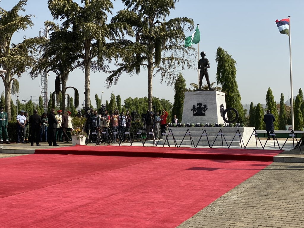 Armed Forces Rememberance Day - Armed Forces Remembrance Day: President Buhari Lays Wreath To Celebrate Fallen Heroes (Pictures & Video)
