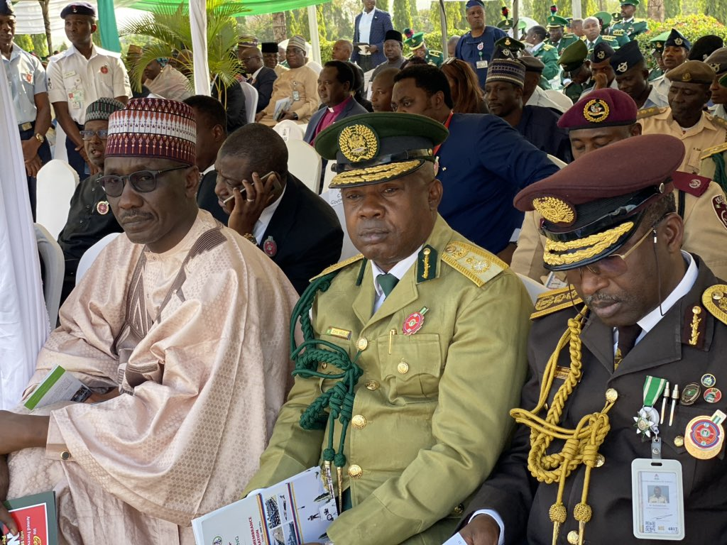 Armed Forces Rememberance Day2jpg - Armed Forces Remembrance Day: President Buhari Lays Wreath To Celebrate Fallen Heroes (Pictures & Video)