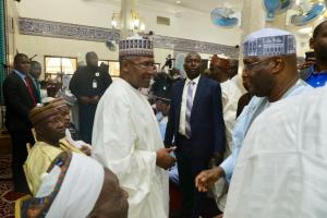 BAT and Atiku 3 - Just In: Again, Bola Tinubu Meets Atiku Abubakar (Photos)
