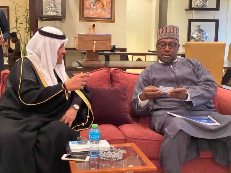 Bello and Prince 2 - Gov. Sani Bello And Saudi Prince To Establish Niger State Silicon City
