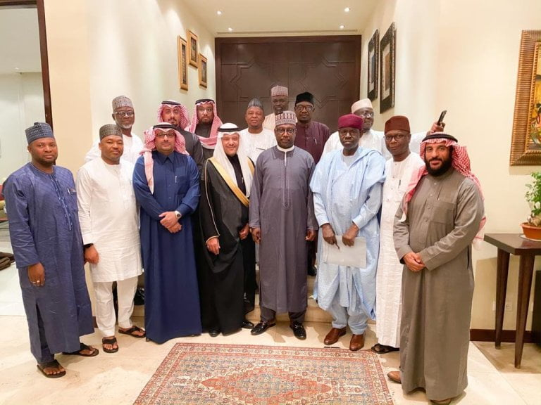 Bello and Prince 3 - Gov. Sani Bello And Saudi Prince To Establish Niger State Silicon City