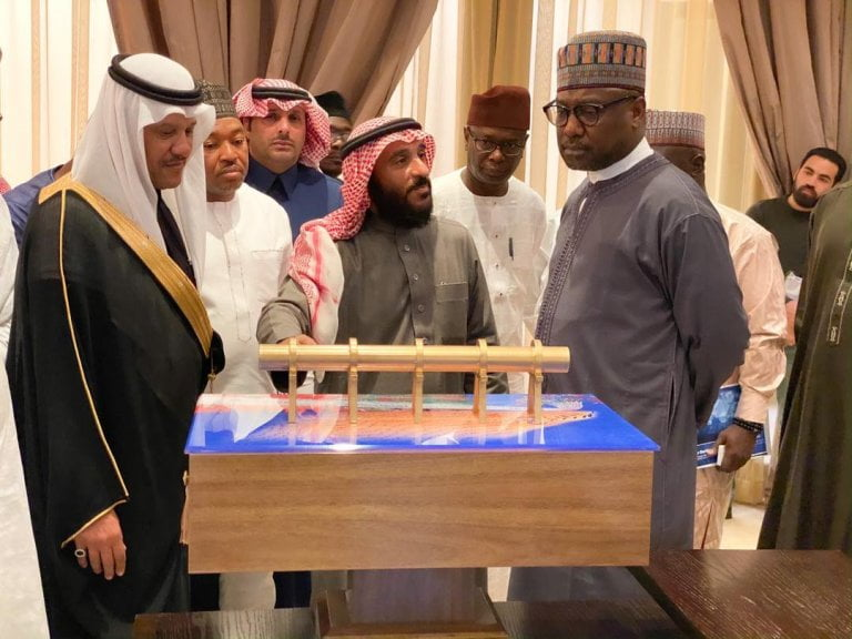Bello and Prince - Gov. Sani Bello And Saudi Prince To Establish Niger State Silicon City