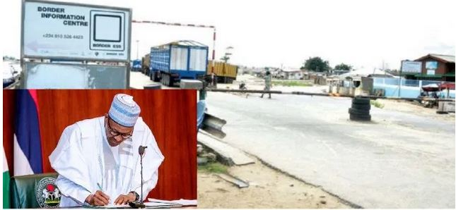 Buhari Speaks On Punishing Nigerian Neighbours With Border Closure