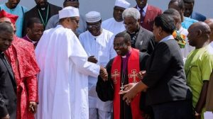 CAN President and Buhari 300x168 - God Is Angry With CAN Leadership — Popular Nigerian Prophet Prophesies