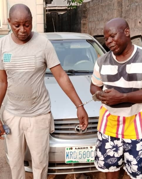 Car Robbers in Lagos