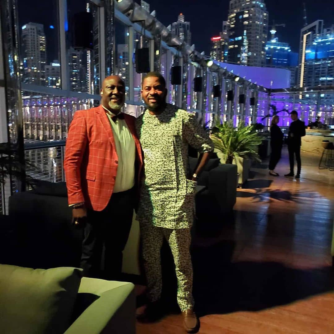 Dino Birthday 3 - See Dino Melaye's Birthday Photos With Two Ladies In Dubai That Is Causing Stir On Social Media