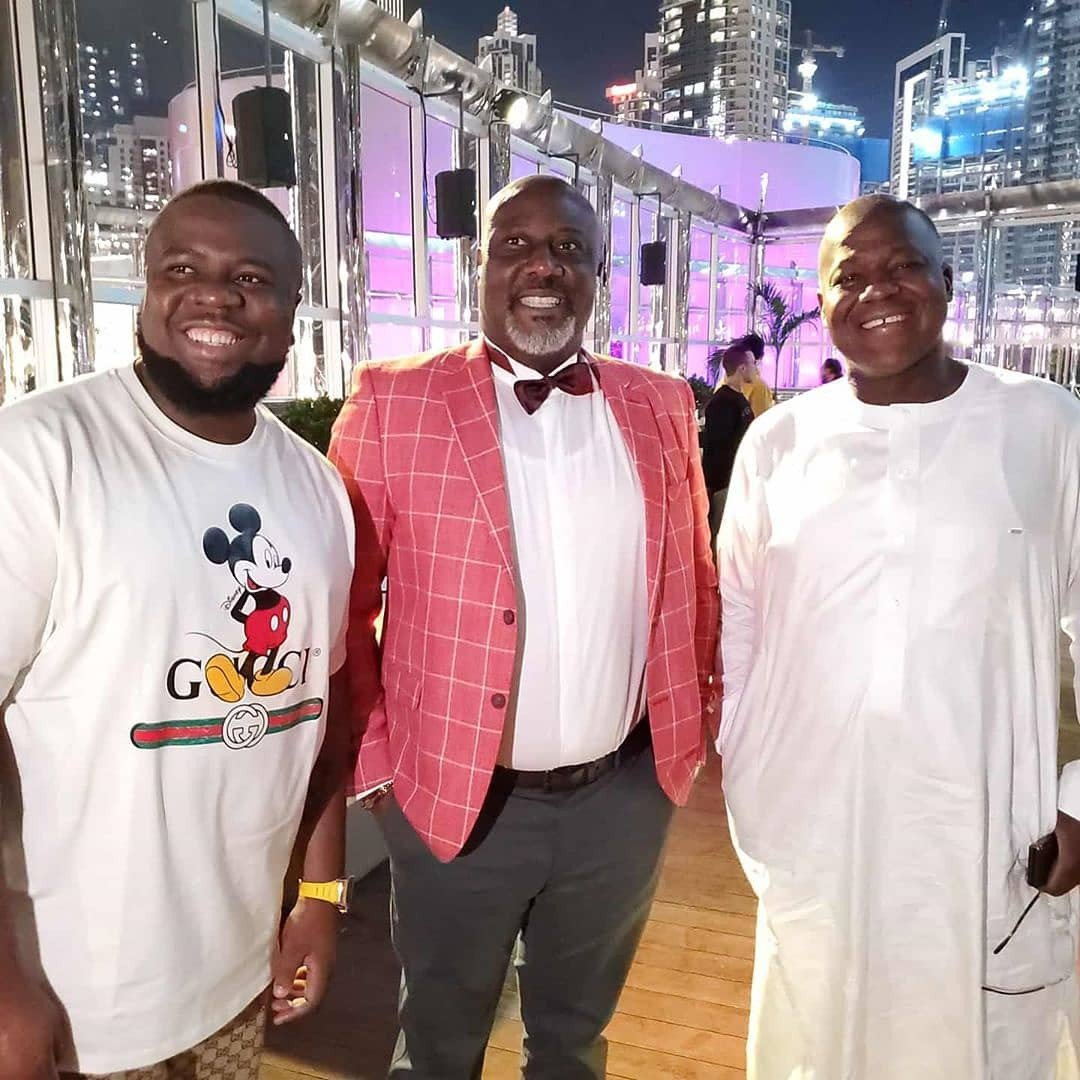 Dino Birthday 4 - See Dino Melaye's Birthday Photos With Two Ladies In Dubai That Is Causing Stir On Social Media