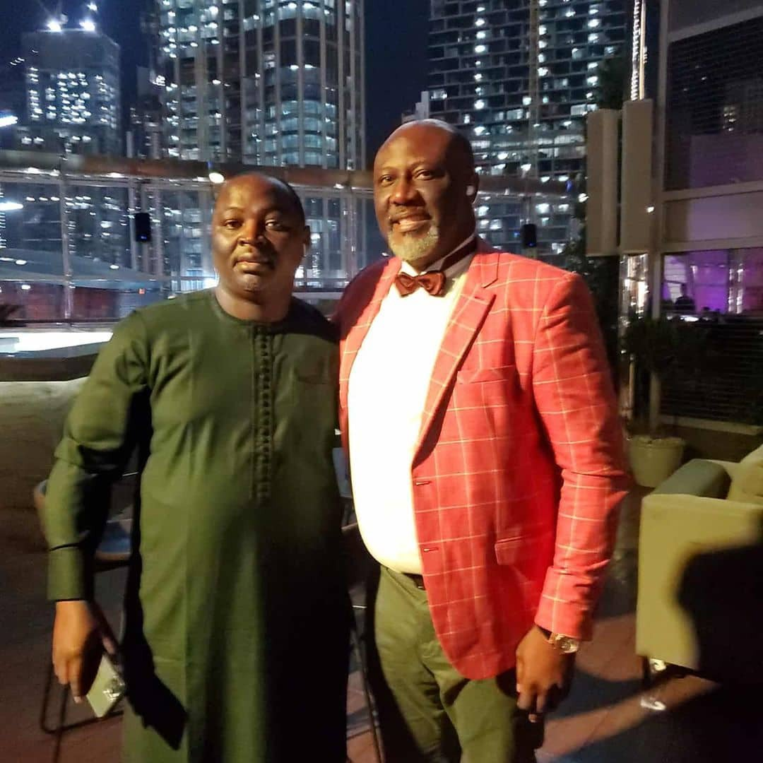 Dino Birthday 5 - See Dino Melaye's Birthday Photos With Two Ladies In Dubai That Is Causing Stir On Social Media