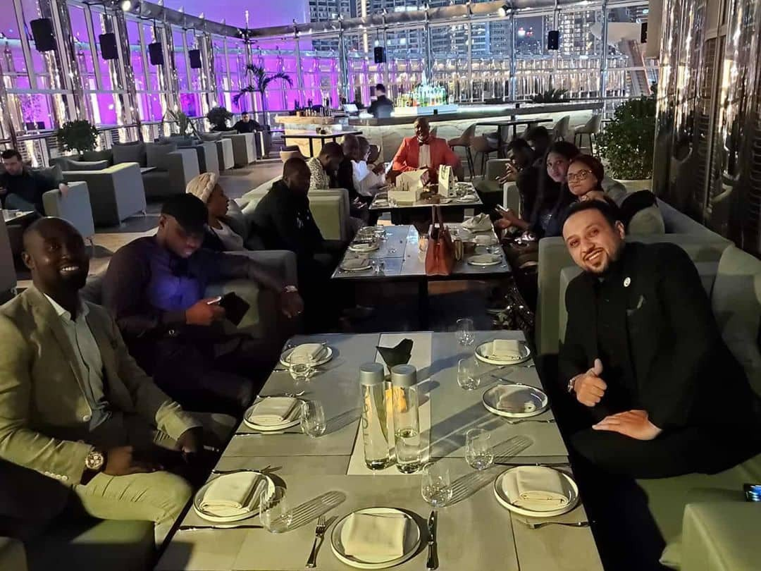 Dino Birthday 6 - See Dino Melaye's Birthday Photos With Two Ladies In Dubai That Is Causing Stir On Social Media