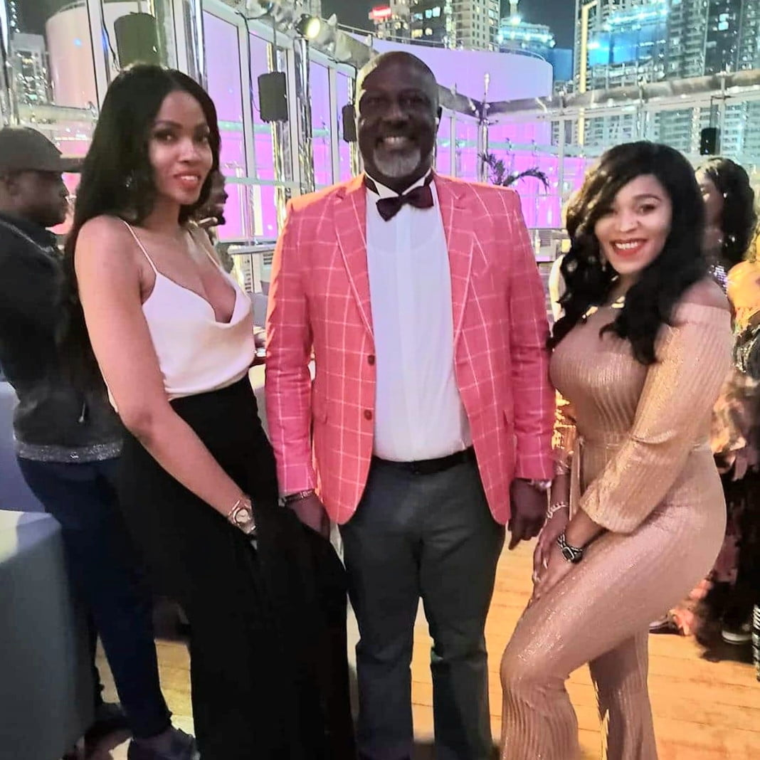 Dino Birthday - See Dino Melaye's Birthday Photos With Two Ladies In Dubai That Is Causing Stir On Social Media