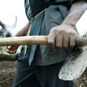Hoe 300x300 - Man Flees After Killing Wife With Hoe In Niger State