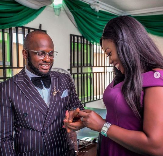 I Go Save 1 - Photos: Hilarious Comedian, I Go Save Ties The Knot