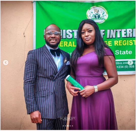 I Go Save 3 - Photos: Hilarious Comedian, I Go Save Ties The Knot