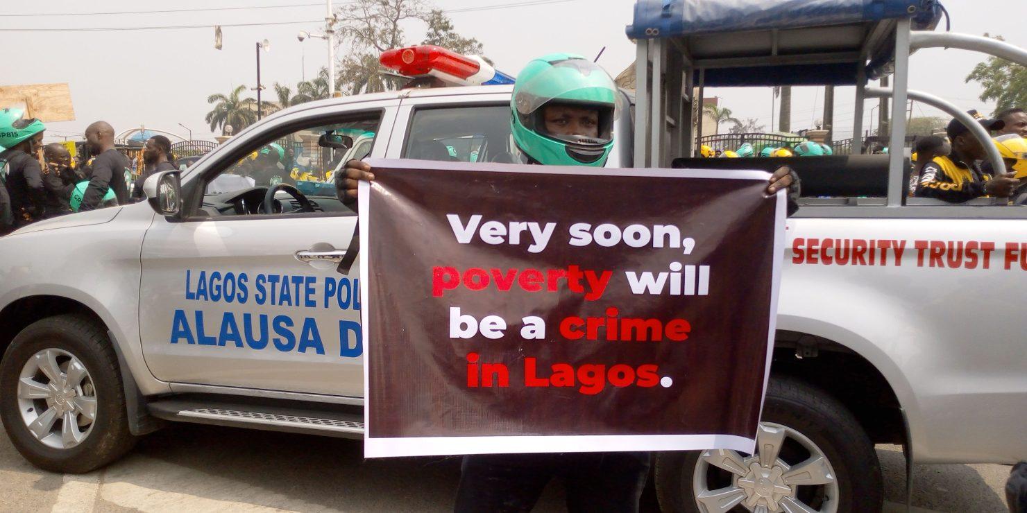 IMG 20200131 WA0036 e1580476144609 - Okada Ban: Max, Gokada Riders Protest In Lagos