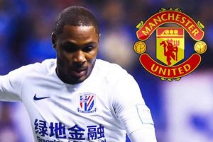 Ighalo Man U 300x201 - Breaking: Manchester United Sign First Nigerian Odion Ighalo