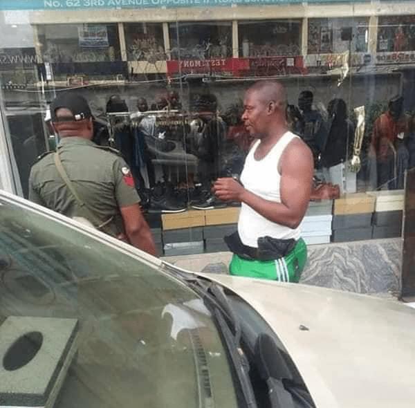 Man Caught In Babanriga
