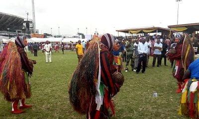 Masquerades Dance Tesumole