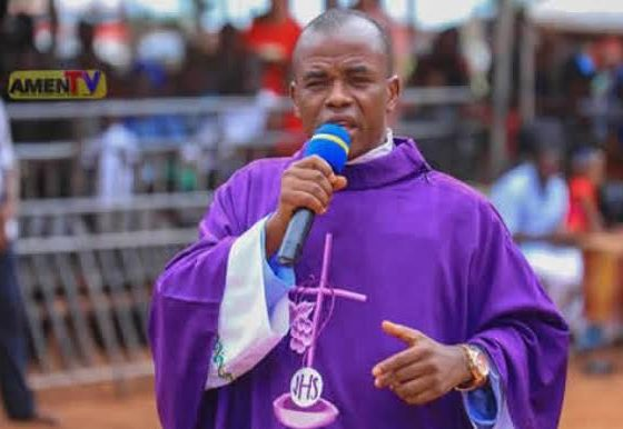 """""""The Lord is taking you to a level even your enemy cannot reach. This will be your year of abundance. Everything you ask in your prayer will be in abundance, in Jesus mighty name,"""" Mbaka declared."""