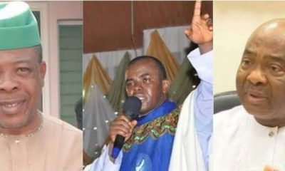 Watch The Moment Father Mbaka Predicted Ihedioha's Sack, Hope Uzodinma's Emergence
