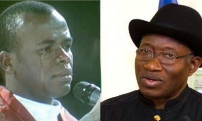 Father Mbaka Makes Shocking Revelation About Former President Goodluck Jonathan