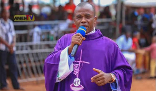 Mbaka: Protesting Youths Vandalise Enugu Catholic Bishop's Residence
