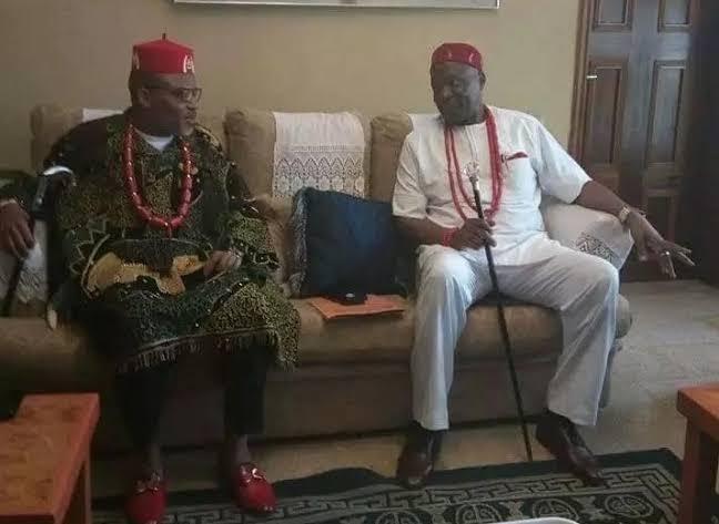 Biafra: Nnamdi Kanu Bows To Pressure, Begs Nwodo's Ohanaeze For Help