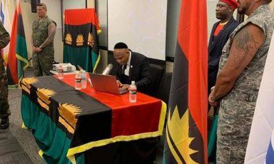 Biafra: Nnamdi Kanu Roasts British Government In Latest Rant