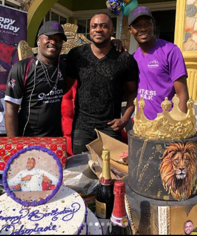 Odunlade Adekola's Birthday Photos